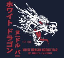 White Dragon Noodle Bar (aged look) Kids Tee