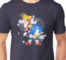 Classic Sonic and Tails 25th Anniversary Style Unisex T-Shirt