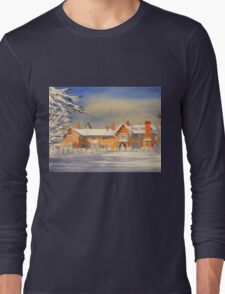 Griffin House School Snowy Day Long Sleeve T-Shirt