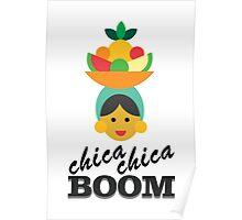 carmen miranda - chica chica boom Poster