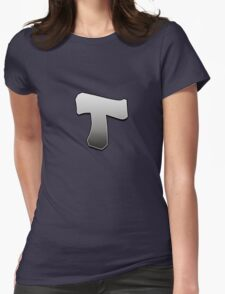 Letter T Womens Fitted T-Shirt