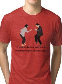 Pulp Fiction - I Want to Dance Tri-blend T-Shirt