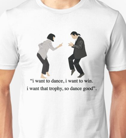 Pulp Fiction - I Want to Dance Unisex T-Shirt
