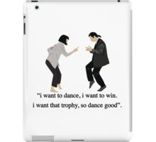 Pulp Fiction - I Want to Dance iPad Case/Skin