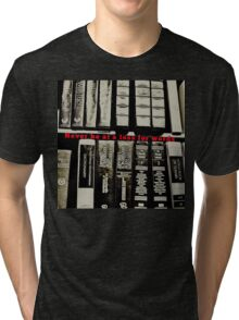 Vocabulary: Size Matters Tri-blend T-Shirt