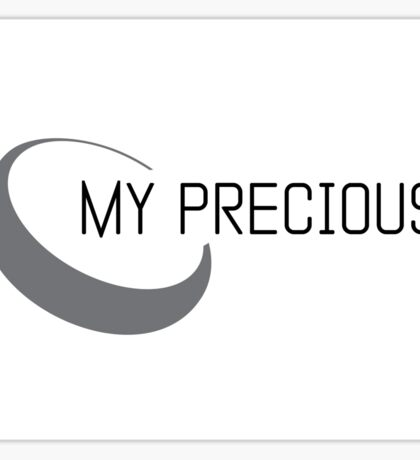 IMPACT design: my precious symbol Sticker