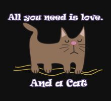 All You Need is love. And a Cat. by Maria  Gonzalez