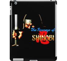 The Revenge of Shinobi (Sega Genesis Title Screen) iPad Case/Skin
