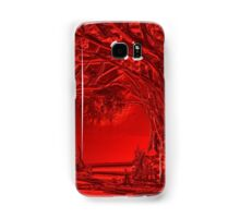 Red is the Colour Samsung Galaxy Case/Skin