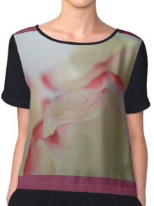 Like a kiss from a rose .... Chiffon Top