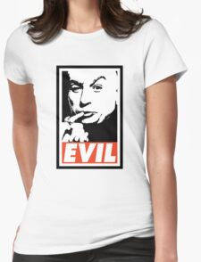 Dr. Evil Womens Fitted T-Shirt