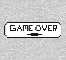 "Video Game ""Game Over"" Graphic Kids Tee"