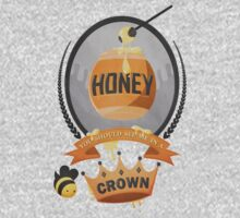 Honey, You Should See Me In A Crown. Kids Tee