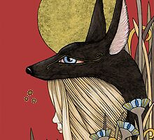 Anubis by Anita Inverarity