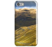 Mountains in autumn. iPhone Case/Skin