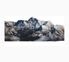 Mount Everest Print One Piece - Long Sleeve