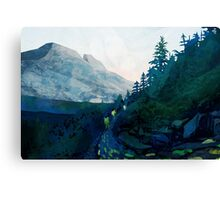 Heritage Art Series - Jade Canvas Print