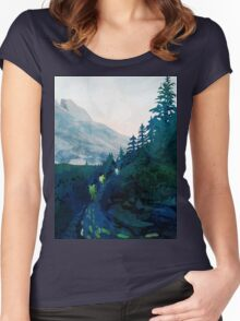 Heritage Art Series - Jade Women's Fitted Scoop T-Shirt