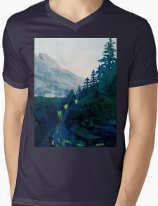 Heritage Art Series - Jade Mens V-Neck T-Shirt