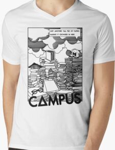 Campus - Bastille  Mens V-Neck T-Shirt