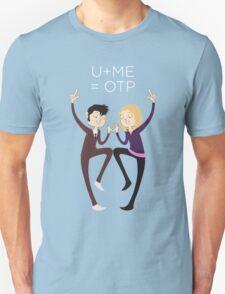 U+ME=OTP 10xROSE Unisex T-Shirt