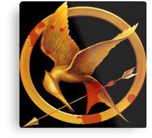 Hunger Games Pin - (Designs4You) Metal Print