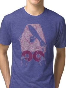 BOOBS VINYL Tri-blend T-Shirt
