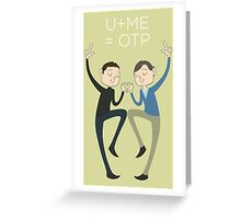 U+ME=OTP CHERIK Greeting Card