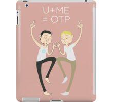 U+ME=OTP TONYxSTEVE iPad Case/Skin