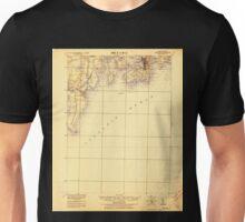 USGS TOPO Map Rhode Island RI Newport 353521 1922 62500 Unisex T-Shirt