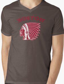 Boston Braves - 1912 logo Mens V-Neck T-Shirt