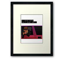 Metro Boomin Framed Print