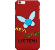 HEY! LOOK! LISTEN! iPhone Case/Skin