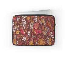 Leaves color red Laptop Sleeve