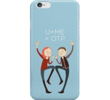 U+ME=OTP AMYxRORY iPhone Case/Skin