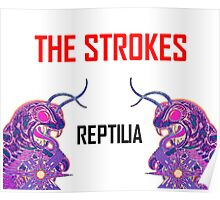Reptilia Lizard Graphic  [The Strokes] Poster