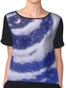 The Moon in the Sky Chiffon Top