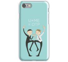U+ME=OTP MORMOR iPhone Case/Skin