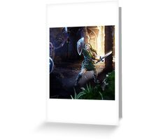Legend of... Greeting Card