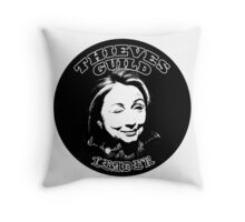 Hillary Thieves Guild Leader Throw Pillow