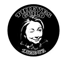 Hillary Thieves Guild Leader Photographic Print