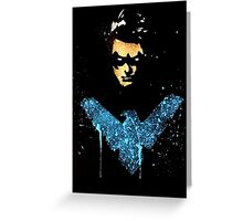 Nightwing Greeting Card