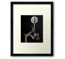 Lunar Yoga Framed Print