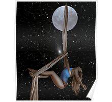 Lunar Yoga Poster