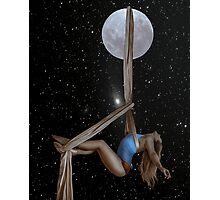 Lunar Yoga Photographic Print