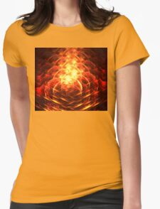 Pompeii Womens Fitted T-Shirt