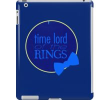 Time Lord of the Rings iPad Case/Skin