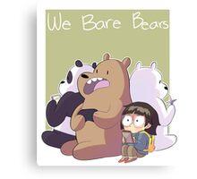 We Bare Bears Canvas Print