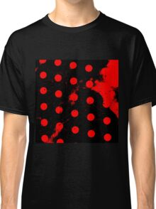 abstract polka dots red Classic T-Shirt