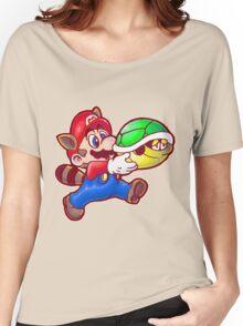 Raccoon Mario Women's Relaxed Fit T-Shirt